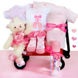 Personalized Baby Ballerina Baby Wagon