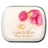 Wedding Mint Tins - Rings & Pearls