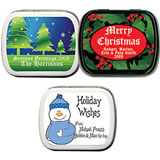 Holiday Party Mint Tins (50 Designs!)