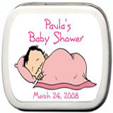 Baby Shower Mint Tins - Baby Shower Sweet Dreams