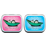 Baby Shower Mint Tins - Baby Shower Peas in a Pod