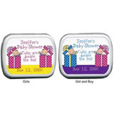 Baby Shower Mint Tins - Baby Shower Twins Fun