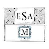 Personalized Monogram 1.5 oz Chocolate Wedding Favors (33 Designs Available)
