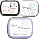 Wedding Mint Tins - Wedding Dolphin