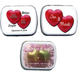 Wedding Mint Tins - Hearts (3 designs available)