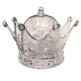 Acrylic Crown Box - Pack of 12