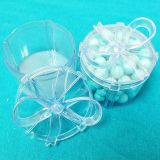 Clear Blue mini present with bow