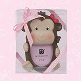 Pink Safari Monkey Picture Frame Favors - CLOSEOUT