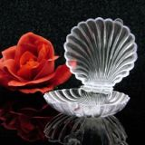 12 Clear Clam Shells Favors