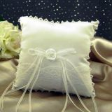 Ring Bearer Pillow With Lace Accents