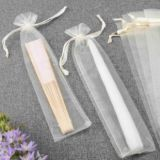 "2.5"" x 12"" Sheer Organza Pouches (Pack of 12)"