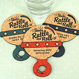 Baby Rattle Cork Coaster
