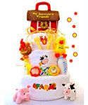 Funny Farm 3 Tier Diaper Cake
