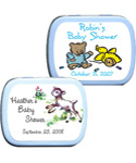 Baby Shower Mint Tins - <b>Animal Theme (6 designs available)</b>