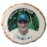 "2.5"" Round Photo/Logo Cookies, dozen"