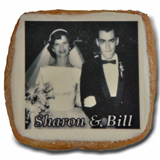 "2.5"" Square Photo/Logo Cookies, dozen"