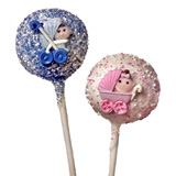 Cake Pops - Baby Designs, each