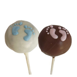 Cake Pops - Baby Feet, each