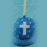 Cake Pop Favors - Cross, each