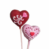 Cake Pops - Heart Shaped, each