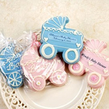 Baby Carriage Cookie, Personalized