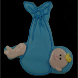 Baby Swaddled (Stork) Cookie
