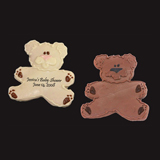 Personalized Teddy Bear Cookie