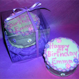 "3"" Mini Hand Decorated Cake, Boxed"