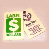 "3.5"" Rectangular Full Color Chocolate Business Card, dozen"