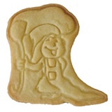 Stamped Impression Logo Cookies, each